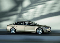 Audi A8 L W12 in motion Wallpaper