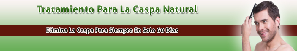 Tratamiento Para La Caspa Natural 60 Dias
