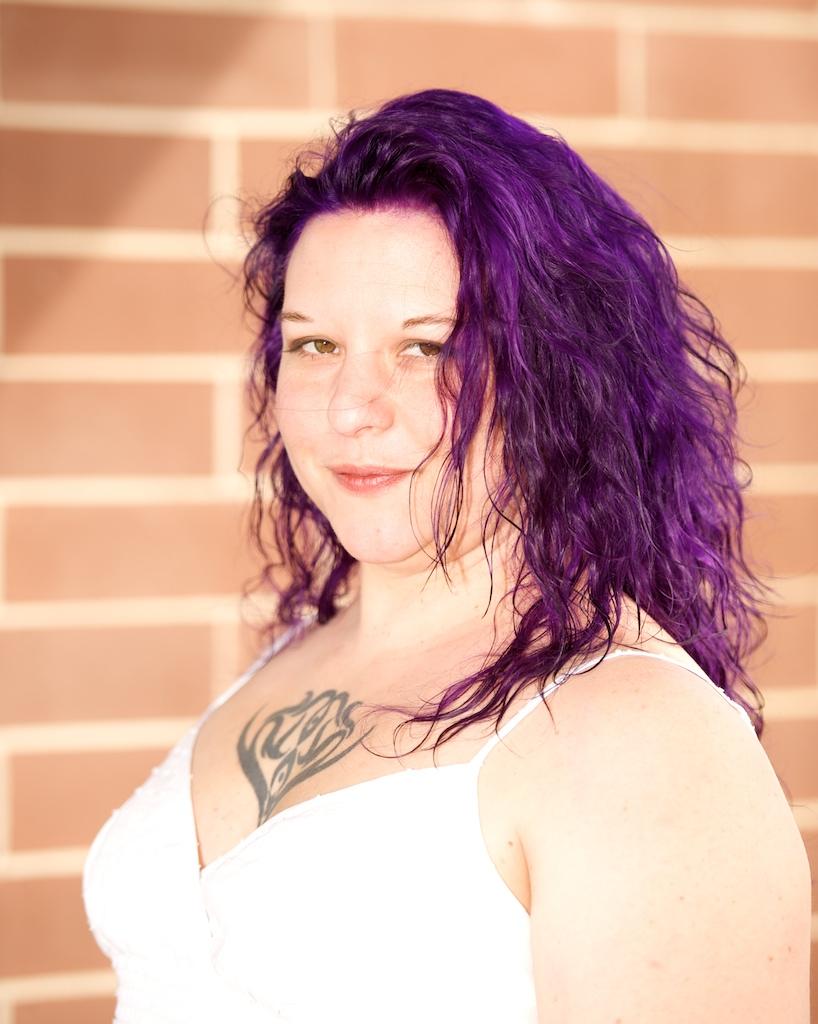 Purple Hair Maggie
