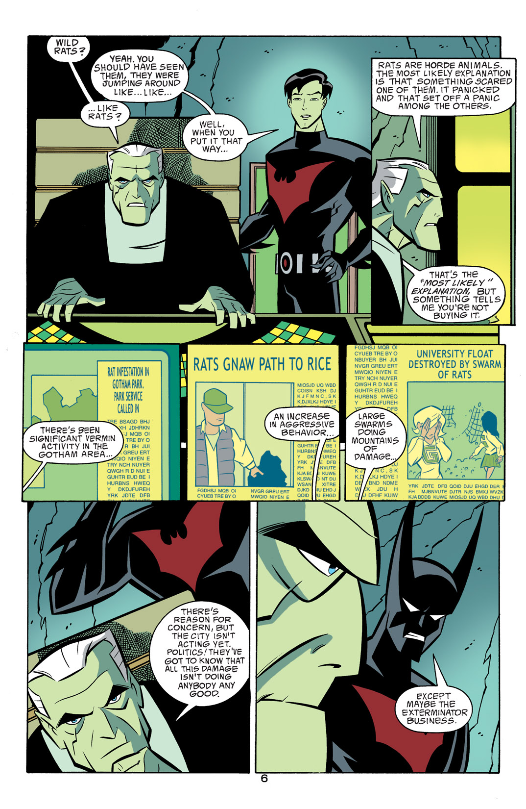 Batman Beyond [II] Issue #17 #17 - English 7