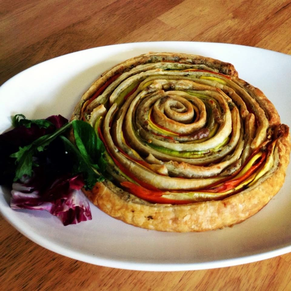 Vegetable Pinwheel