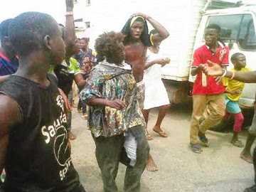 mad woman ritual killer lagos
