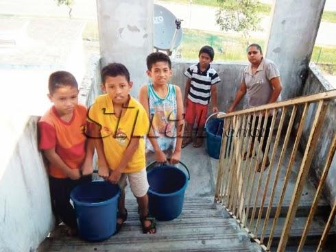 Penduduk Bengang Tekanan Air Rendah