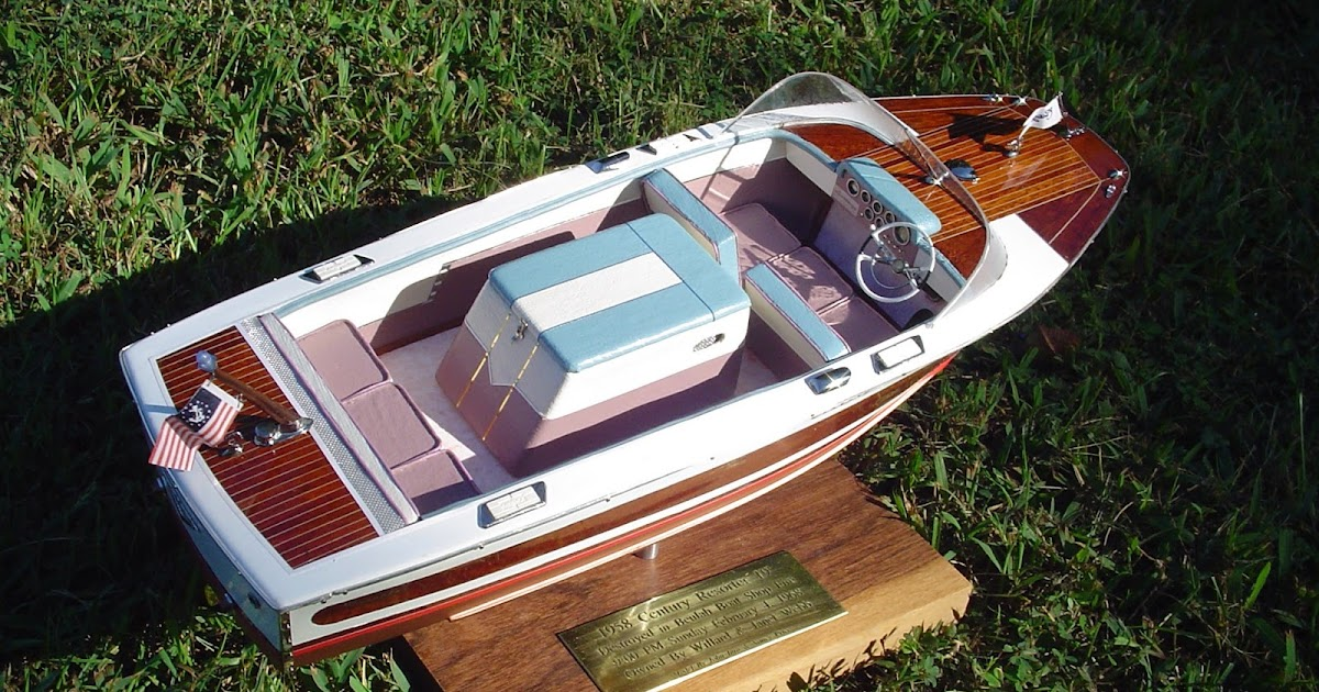 Model Boat Building: By The Way, We Make Model Boats...