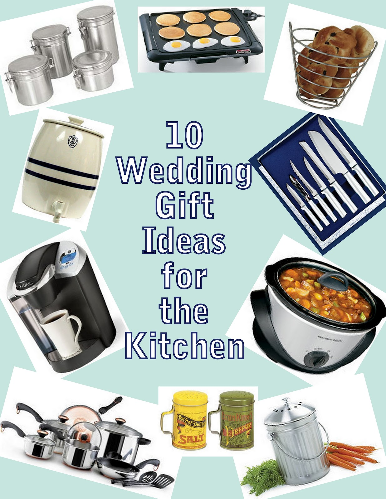 Wedding Gifts For Kitchen : Pressure Cooking and Canning : Wedding Gift Ideas for the Kitchen