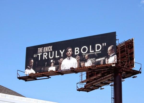 The Knick season 1 Emmy billboard