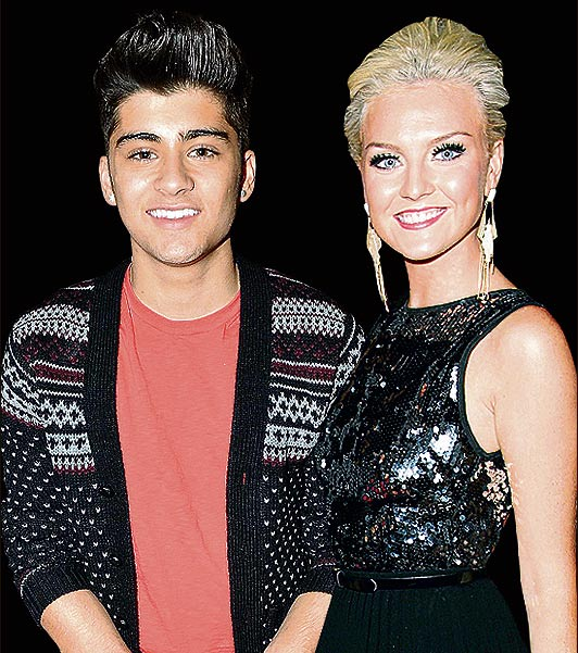 One Direction's Zayn Malik and Little Mix's Perrie Edwards ...