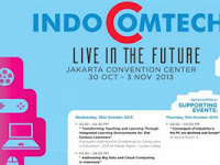 Jadwal dan Harga Tiket Indocomtech 2013
