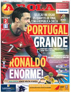 La prensa lusa se rinde a los pies de Cristiano Ronaldo