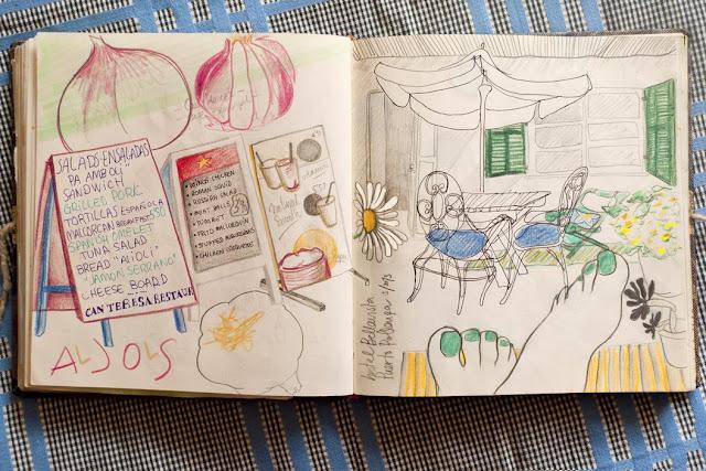 Ilustración ajos de Anita Bonilla
