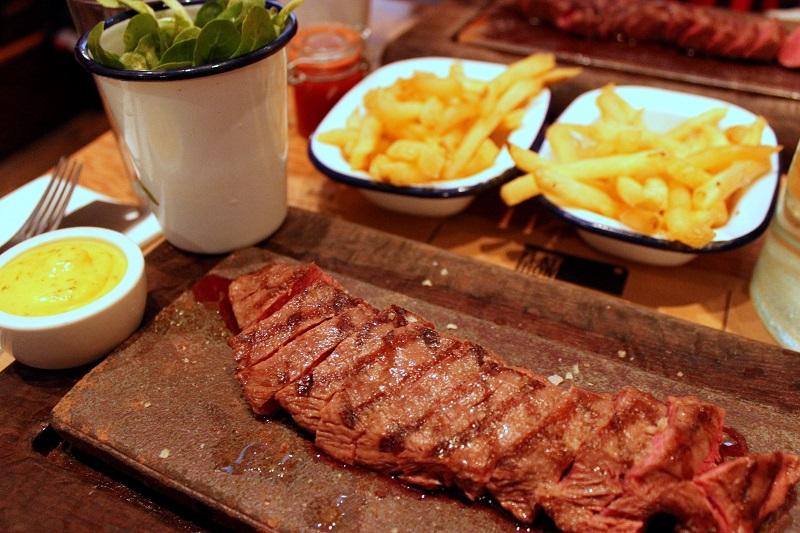 Review Flat Iron Steak Soho Mini Adventures