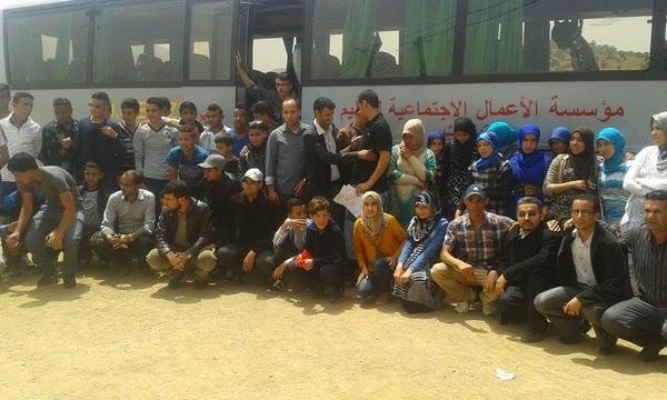 رحلة ترفهية و إستكشافية لفائدة تلاميذة ثانوية محمد الجزولي نيابة تيزنيت