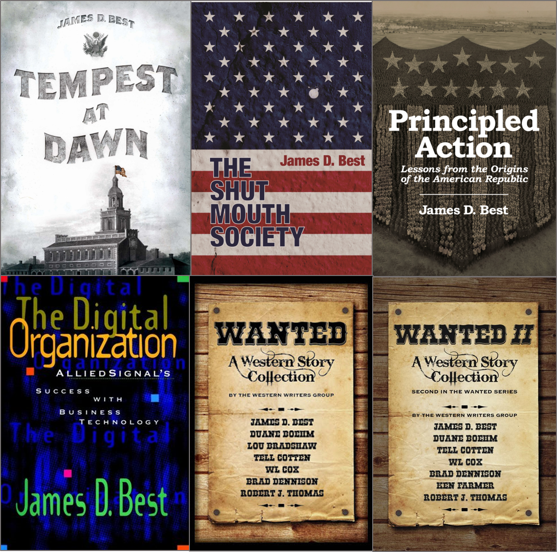 Other Great Books & Stories by James D. Best