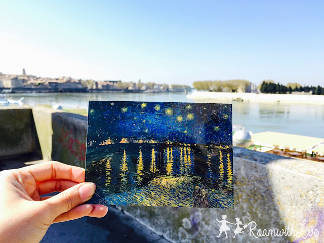 Honeymoon, ฮันนีมูน,review, france, โพรวองซ์, Provence, Arles,Vincent Van Gogh, ตามรอย,Arena,starry night over the Rhone