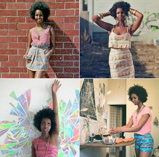 cheveux afro naturelles