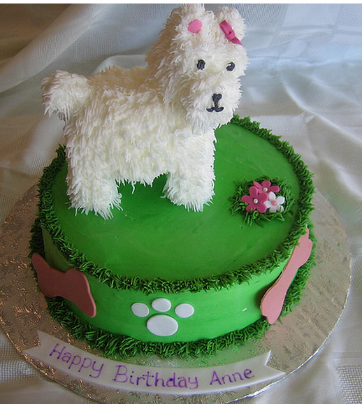 Birthday Cake Images Dogs : The big surprise: a dog birthday cake LoL Picture Collection