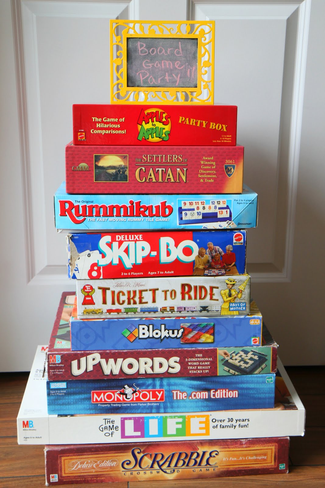 Goodwill Tips: Throw a Board Game Party With Goodwill