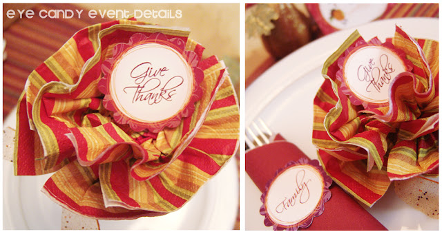 DIY thanksgiving decor, thanksgiving table ideas using printables