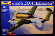 Revell He-162A-2 in 1/32 Review