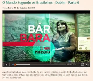 o mundo segundo os brasileiros em dublin