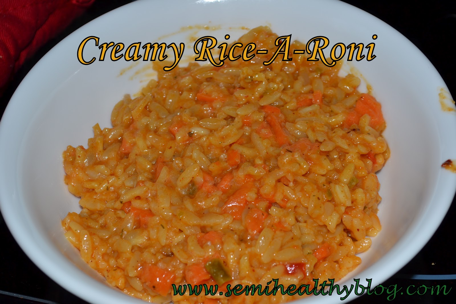 Leftover Idea: Fried Rice-A-Roni and Green Beans (serves 1)