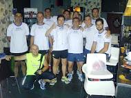 Componentes del Club de Atletismo Los Gin Running Sevilla