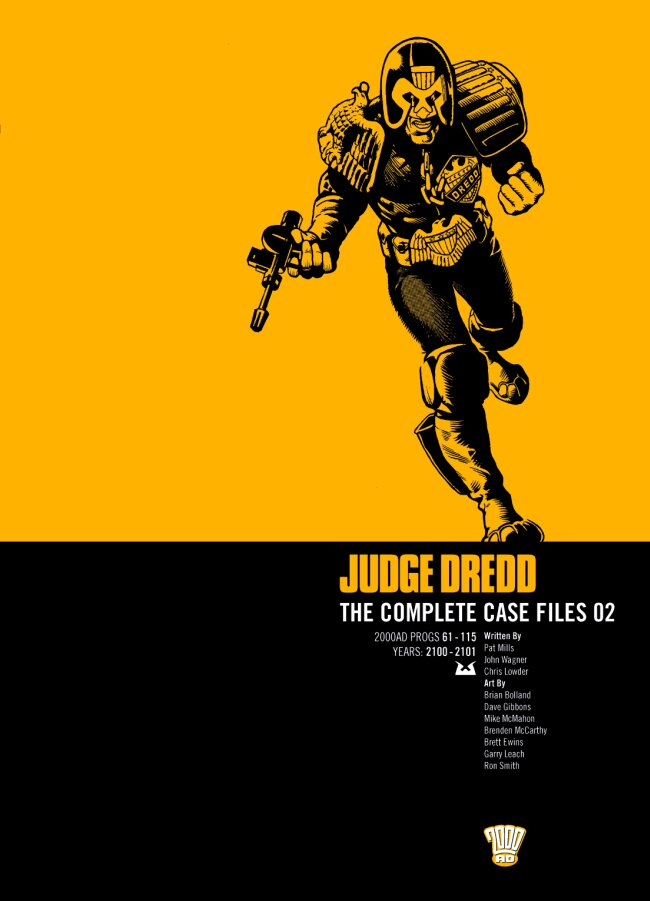 Judge Dredd: The Complete Case Files issue 2 - Page 1