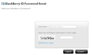 BBID password reset
