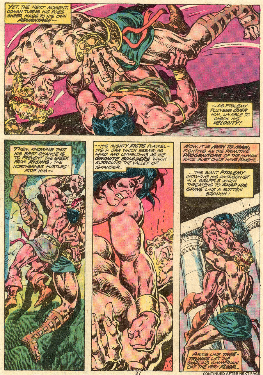 Conan the Barbarian (1970) Issue #80 #92 - English 16