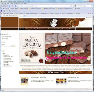 BELGIAN CHOCOLATE PROMO