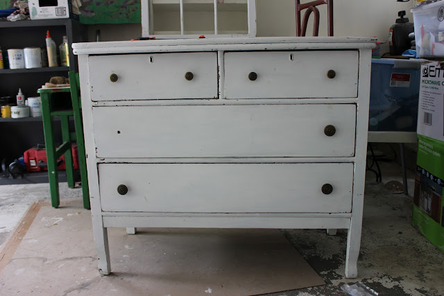 I Was Pretty Unsure If The Top Would Be Able To Stained Or Not Didn T Know Spot In Middle Water Damage Dresser Had Leaves And