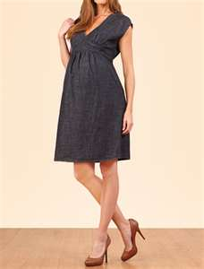 short summer maternity evening dress