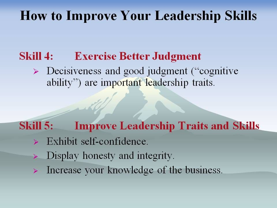 an analysis of good leadership traits Studying the characteristic of leadership is useful because we tend break things into characteristics to make big concepts easier to handle there are common traits that define leadership, and finding them only takes some study of those who have been successful.