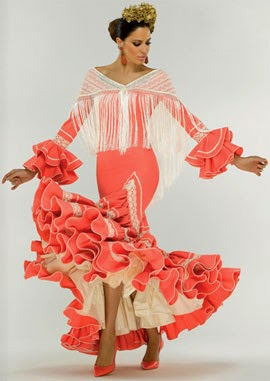 vestidos de flamenca El Corte Inglés 2014