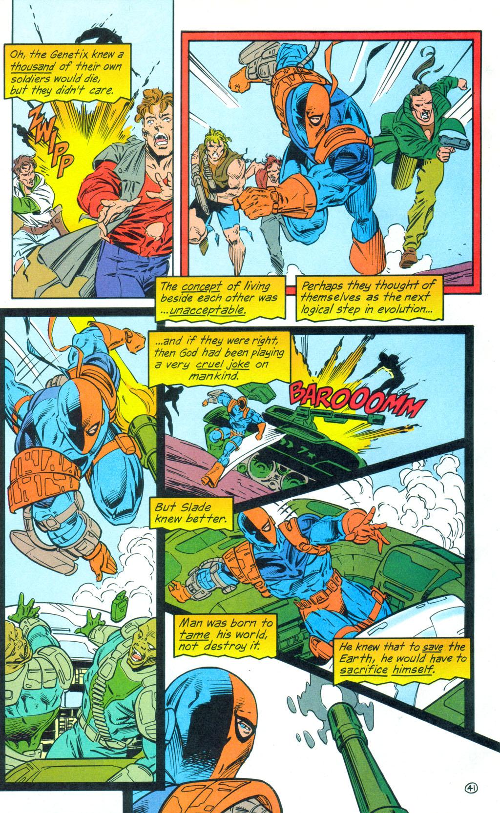 Deathstroke (1991) Annual 3 #3 - English 42