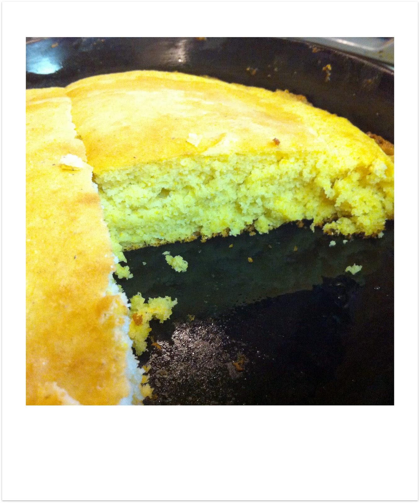 Gluten Free Cornmeal Cake Recipe