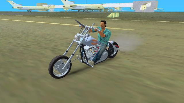 Harley Black Death GTA Vice City