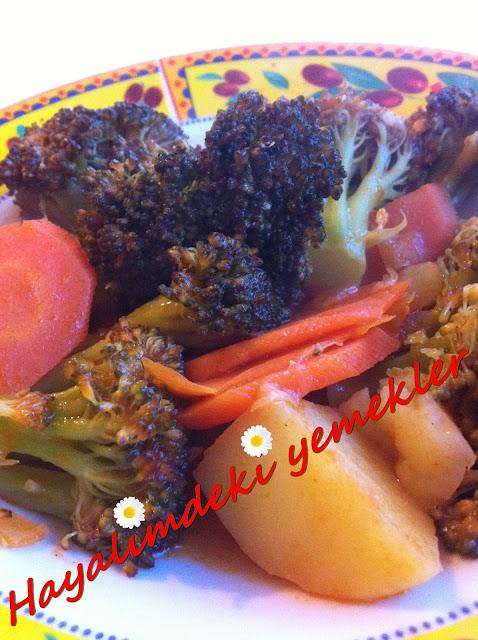 Zeytinyağlı Brokoli Tarifi,resimli  Zeytinyağlı Brokoli nasil yapilir