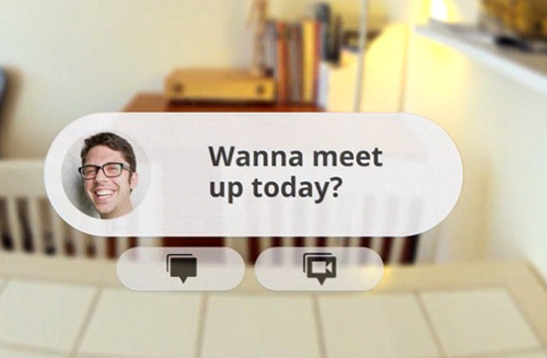 Google Project Glass: Email and Conversations