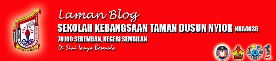 Laman Blog Sekolah Kebangsaan Taman Dusun Nyior, 70100 Seremban, Negeri Sembilan
