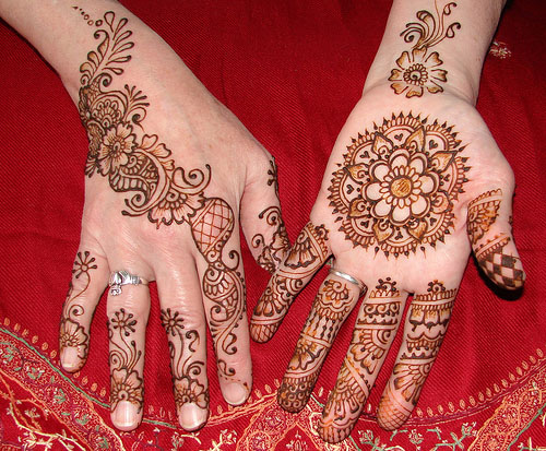 Mehndi Designs For Palms Easy : Simple mehndi designs for palm