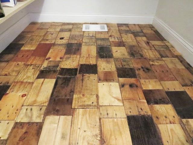 Our diy pallet wood floor cost only 100 woodworking crazy for 100 floors floor 89
