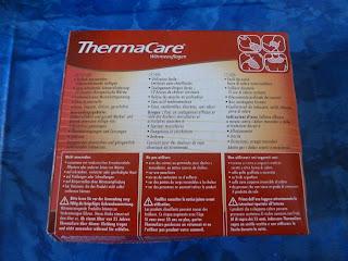 sternchens tigerische testwelt thermacare w rmeauflage. Black Bedroom Furniture Sets. Home Design Ideas