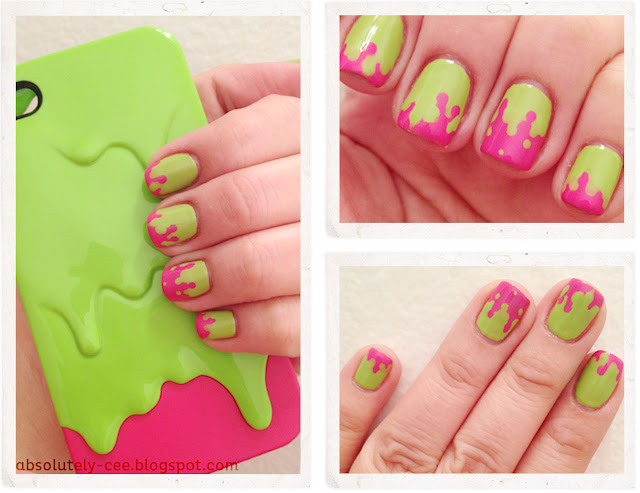 iPhone Case Slime Switcheasy Inspiration Nails