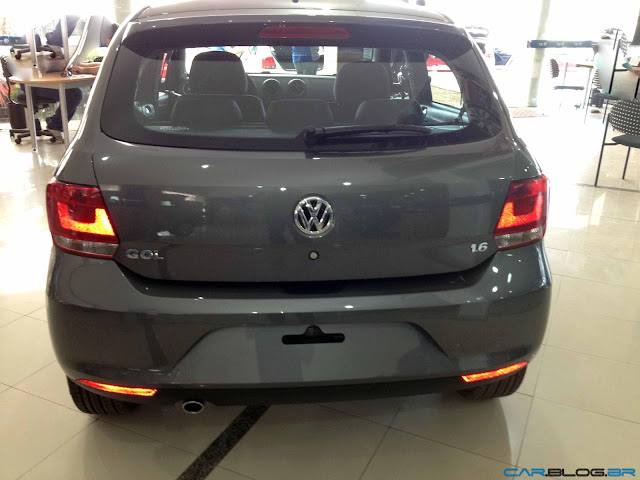 Novo Gol Power G6 2013 i-Motion - traseira