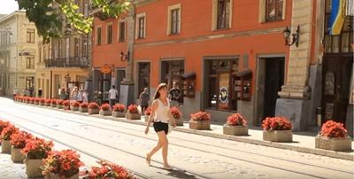 Ukrayna'nın en büyük kentlerinden birisi olan Lviv'den manzaralar