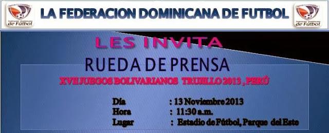 Rueda de Prensa participación Sub 20 Femenina Juegos Bolivarianos