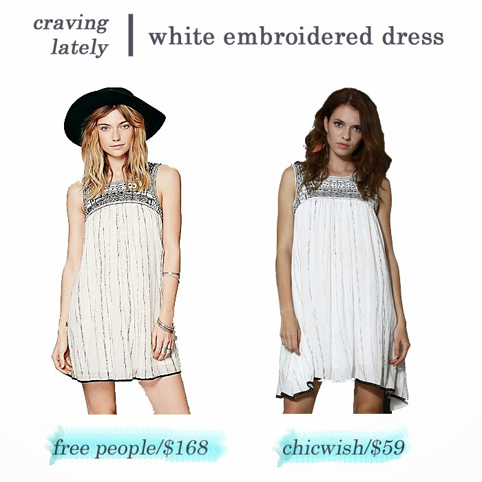 cute white embroidered dress