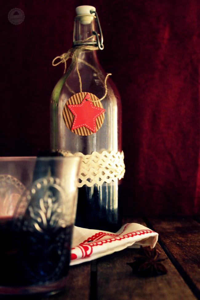 Glühwein vino caliente especiado alemán 006