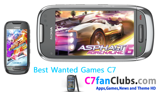 Best Wanted HD Games Collection for Nokia C7